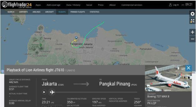 Aplikasi Flightradar24 Airlines Airline Flights App
