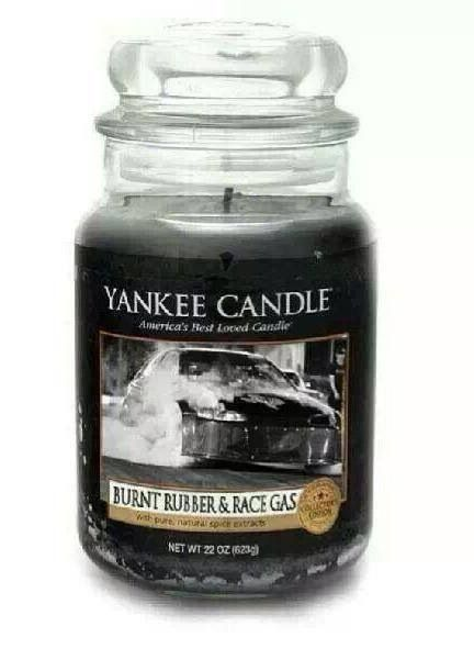 Yankee Candle Burnt Rubber Amp Race Gas Scent Guy Gear