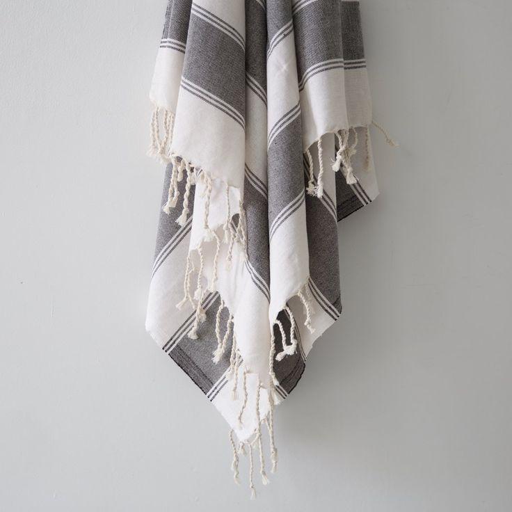 Bold Stripe Turkish Towel 180x100cm $30