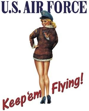 45 best images about air force pin up girls on pinterest