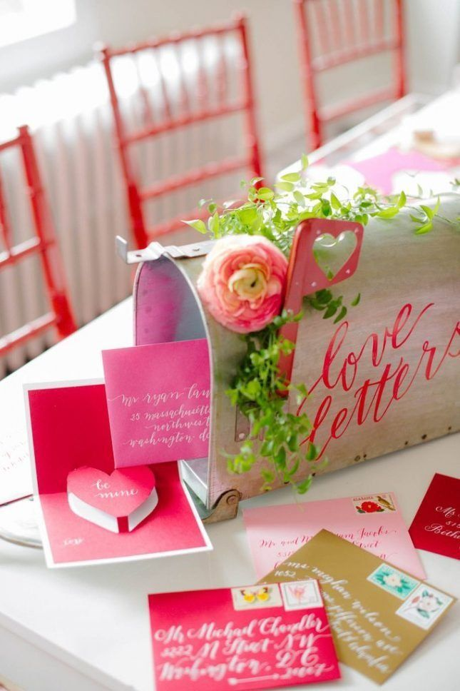 0205707e96c1 20 Valentine s Day-Inspired Wedding Ideas You Are Going to LOVE via Brit +  Co