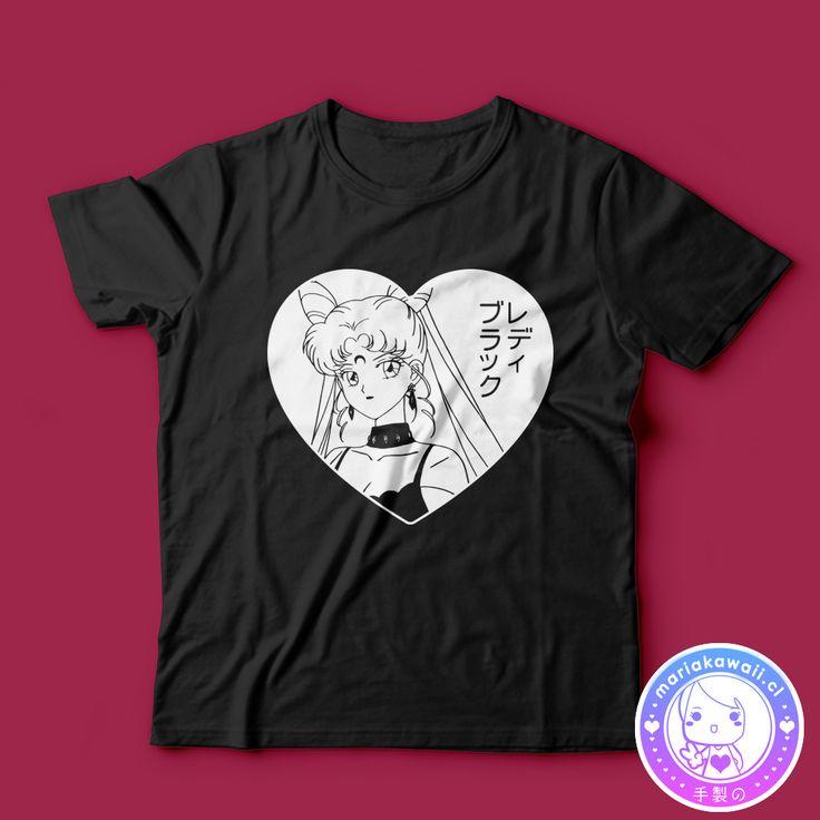 María Kawaii Store - Polera Black Lady Sailor Moon