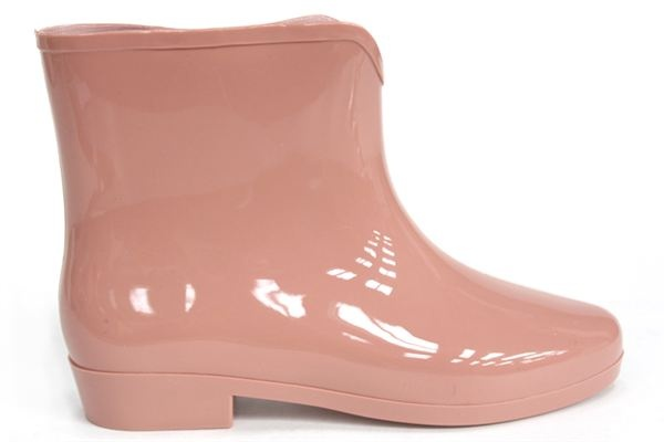 GALE Ankle Boot Wellies NUDE