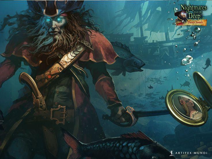 Nightmares from the Deep®: Davy Jones 1280x960 #wallpaper