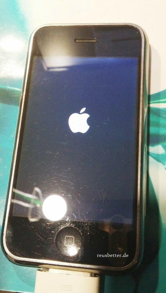Apple Iphone 8gb Schwarz A1203 3 5 Zoll Ohne Vertrag Mit Bildern Apple Iphone Iphone Apple Produkte