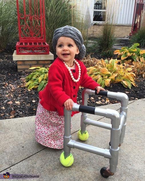 Baby Grandma Costume - 2016 Halloween Costume Contest                                                                                                                                                                                 More