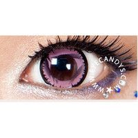 GEO NOVA PINK  Circle Lens Fashion Colored Contacts Enlarging Korean Contact Lenses | EyeCandy's