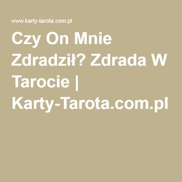 Czy On Mnie Zdradził? Zdrada W Tarocie | Karty-Tarota.com.pl