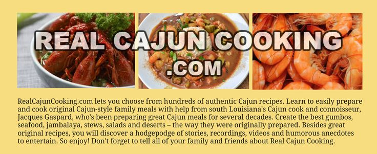 Real Cajun Cooking - Pure and Simple