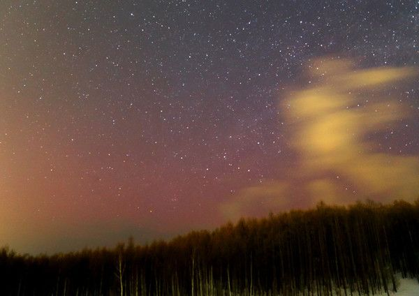 オーロラ、北海道で観測 国内では04年以来