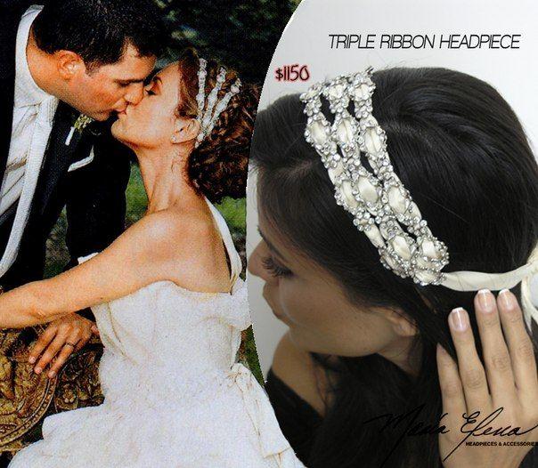 #AlyssaMilano wedding accessories | Alyssa & David's ...