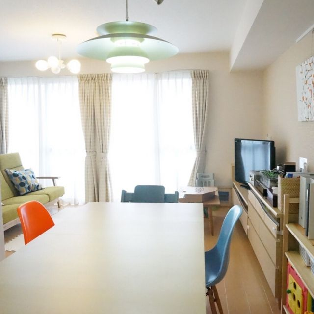 みんなどうしてる?縦長リビングの家具配置&インテリア   RoomClip ...