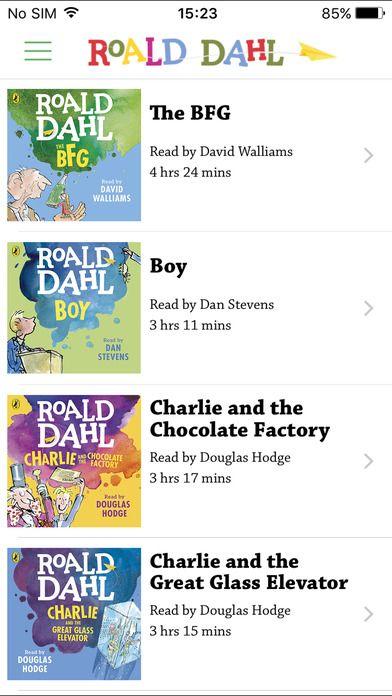 Roald Dahl Audiobooks by Penguin Books                              …