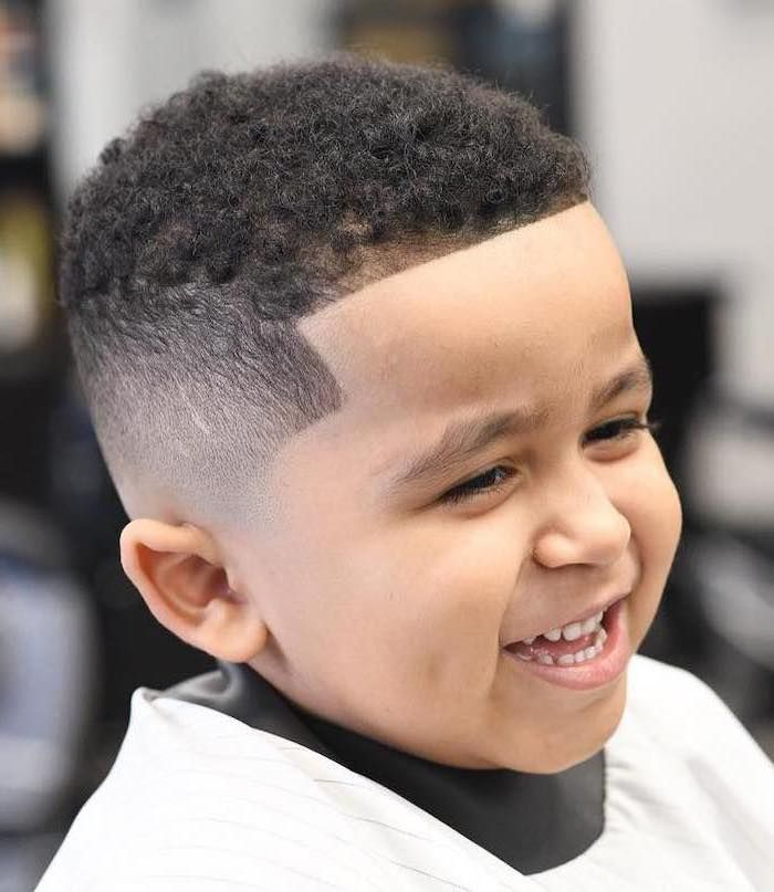 Short Black Curly Hair Boy Smiling Types Of Haircuts For Men In 2020 Boys Haircuts Little Boy Hairstyles Black Boys Haircuts