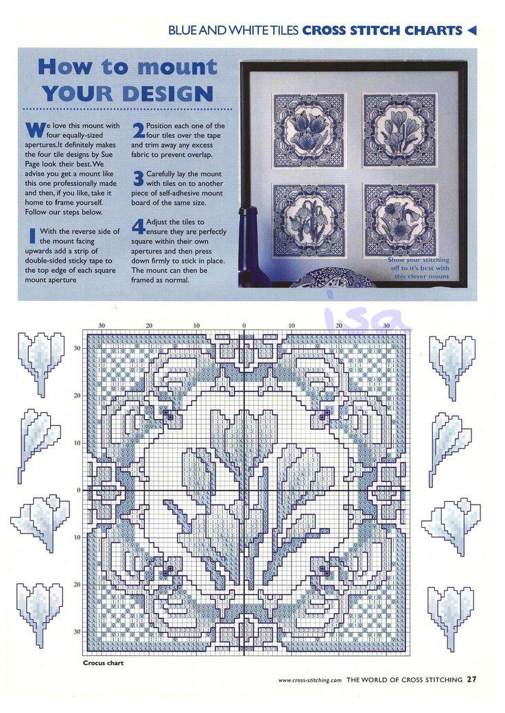 The world of cross stitching 043 март 2001