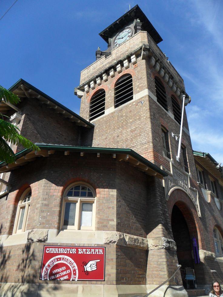The old post office, Lismore NSW Australia...home of Carrington Bazaar.