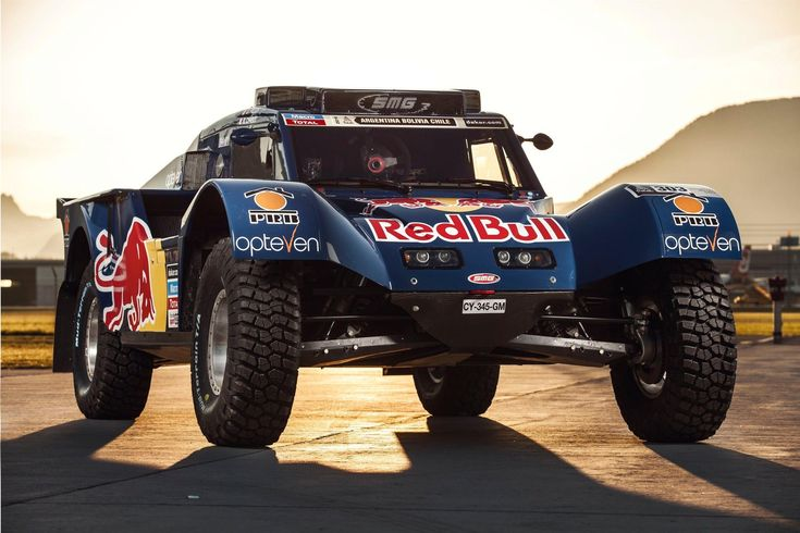 Carlos' desire to dominate every facet of the rallying world has given birth to this, the French built SMG Dakar prototype. Description from redbull.com. I searched for this on bing.com/images