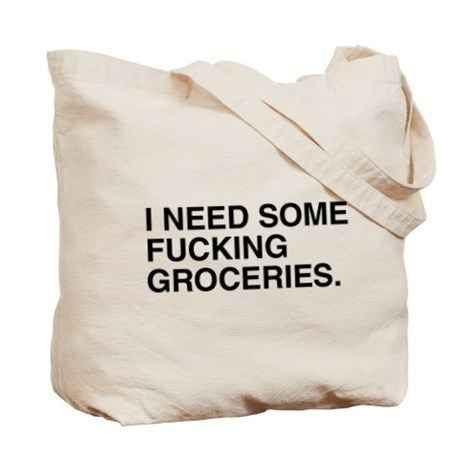 This grocery bag ($17).
