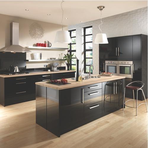 Kitchen Cabinets Wickes: 17 Best Images About Dark Grey Kitchens On Pinterest