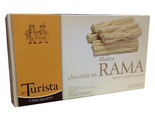 Chocolate en rama - blanco