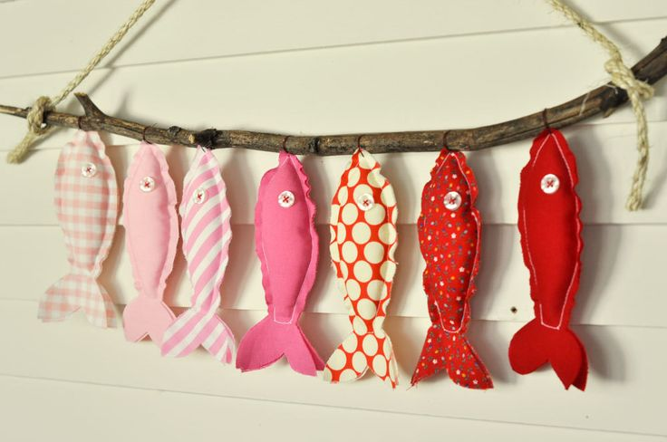 Pink Fish - Eco-Friendly Wall Decor.