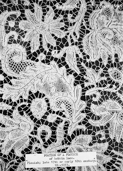 Bobbin lace/Flemish