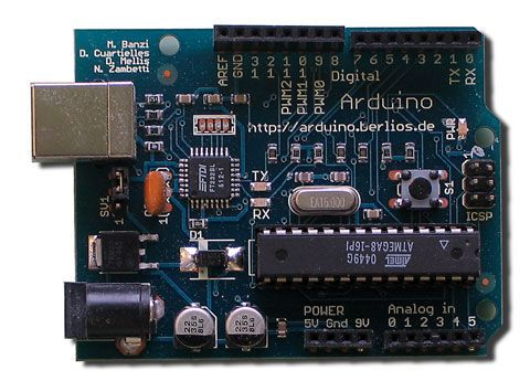 Arduino Home automation. Control your lights, heating, security remotely
