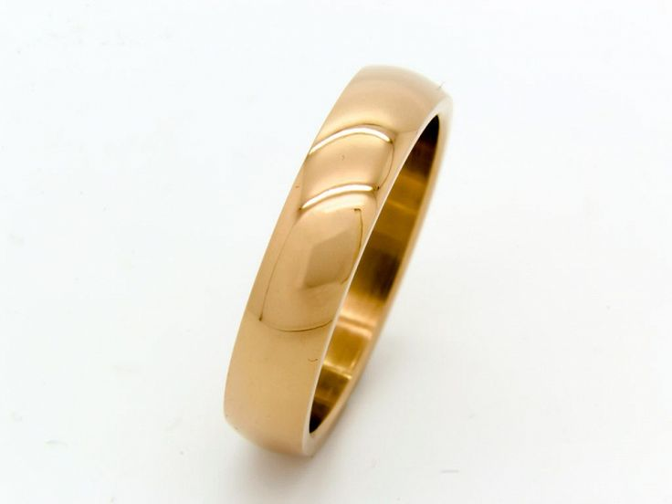 Rosé színű nemesacél karikagyűrű