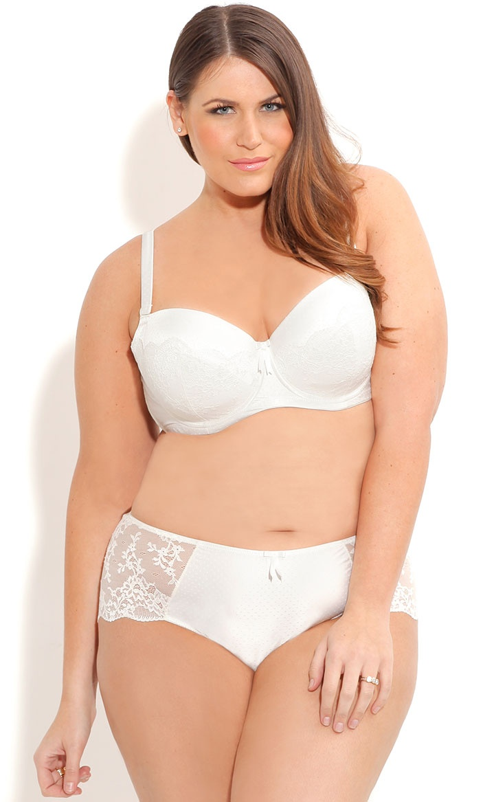 City Chic Grace Contour Bra Brief Women S Plus Size