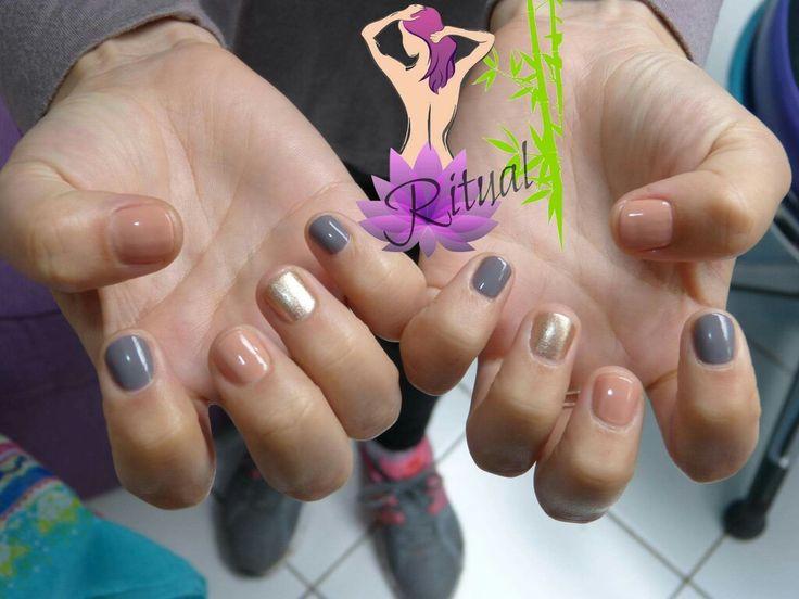 Manicure tonos Nude