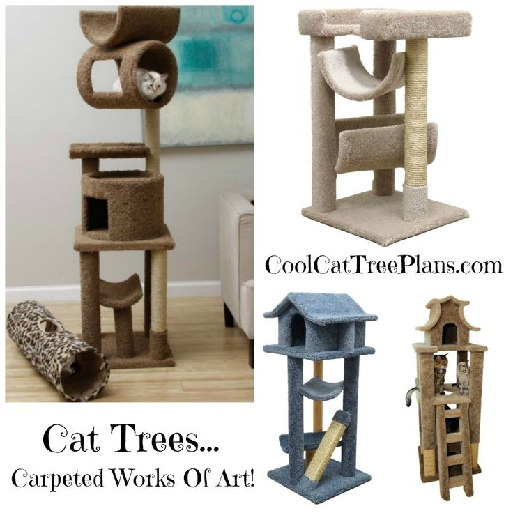 Best 25 cat tree plans ideas on pinterest cat trees for Do it yourself cat tower