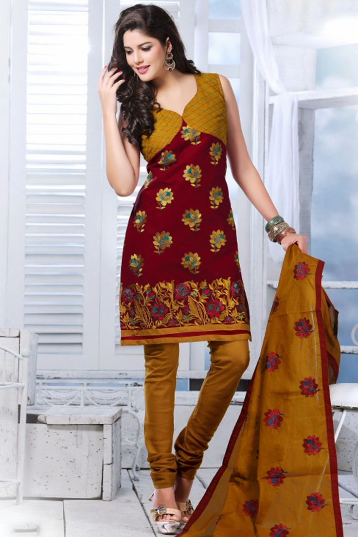 Latest Neck Designs For Cotton Churidars Scarborough Churidar Dress Neck Designs Fashion Name Wonderful Long Sleeve Dresses For Women Who Love Pretty