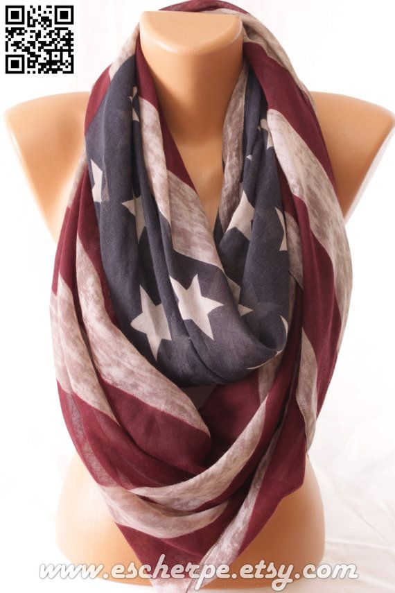MOTHERS DAY SALE Vintage Inspired Us Flag American by escherpe