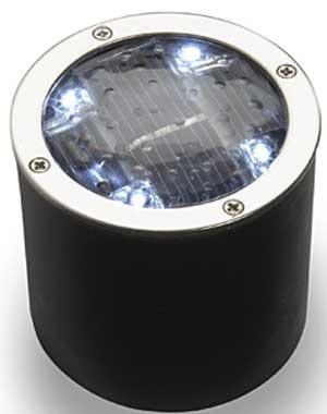 Solar grondspot / Ø 60mm / IP68.  http://www.ledverlichtingonline.eu/nl/product/solar-grondspot---60mm--ip68/