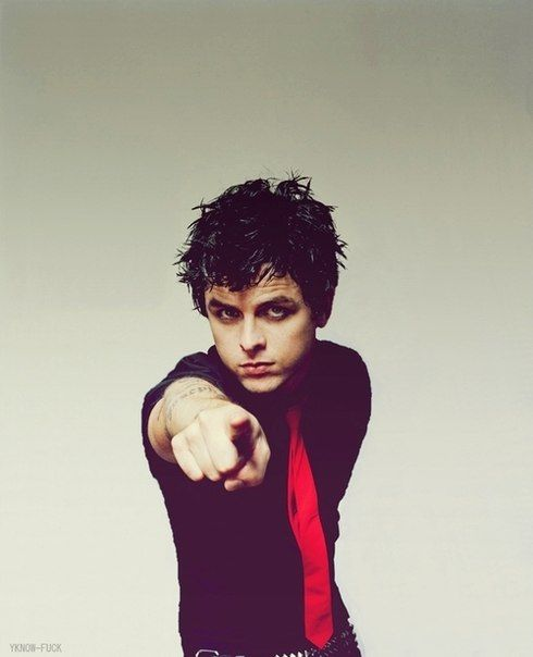 "Billie Joe Armstrong the person i pinned this from put "" BillY joe armstrong"" its billIE"