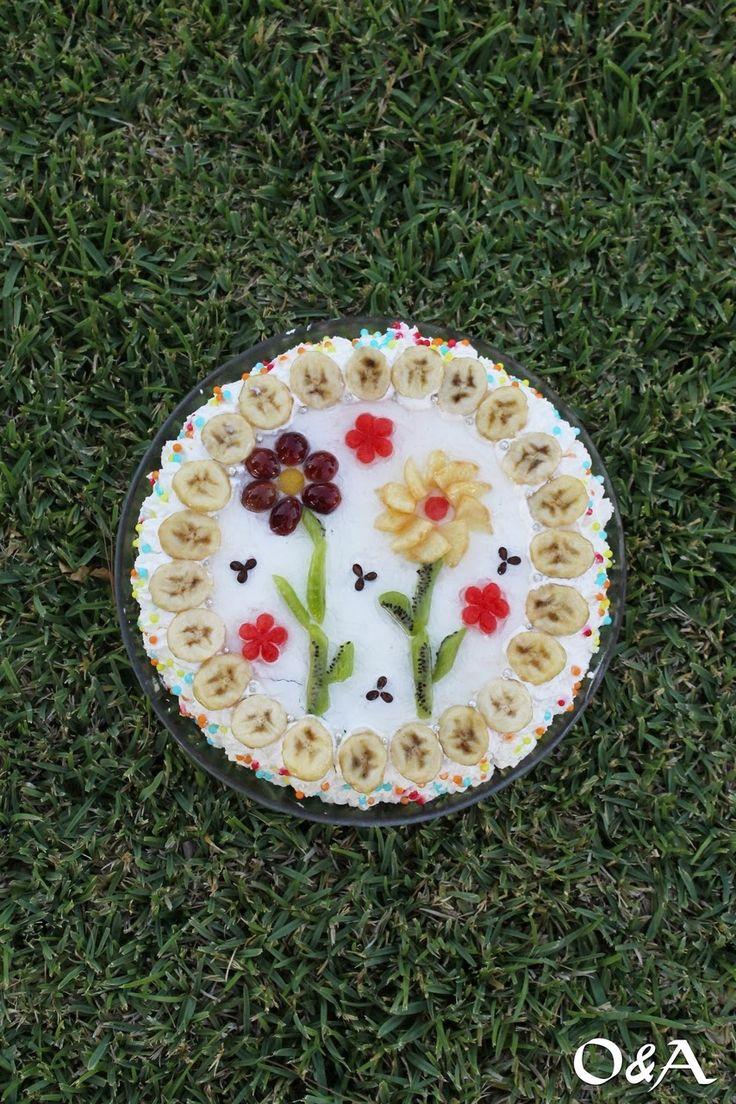 Olio e Aceto: Ricetta torta alla frutta decorata