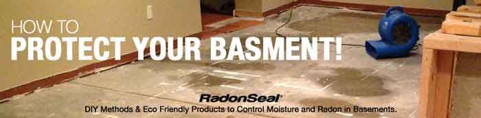 Drying and waterproofing a wet basement D.I.Y.