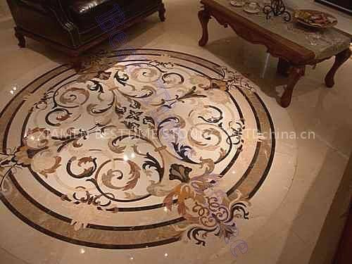 Waterjet Medallion Floor Tile China Idea