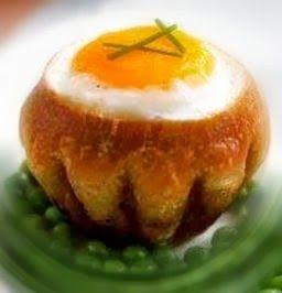 Эликсир молодости: Яйца в булочке