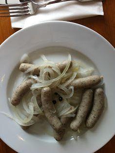 """L´art de gourmet: """"Blaue Zipfel"""" (Saure Zipfel) - DER fränkische Biergarten-Snack ..."""