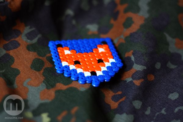Hama bead fox by minaitte.net