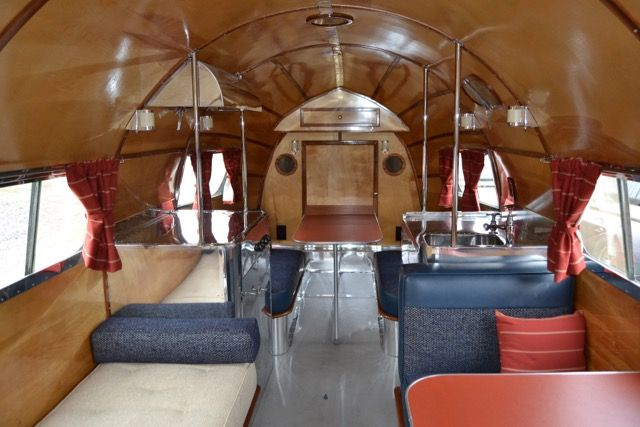 1936 Bowlus Road Chief Vintage Travel Trailer Restoration