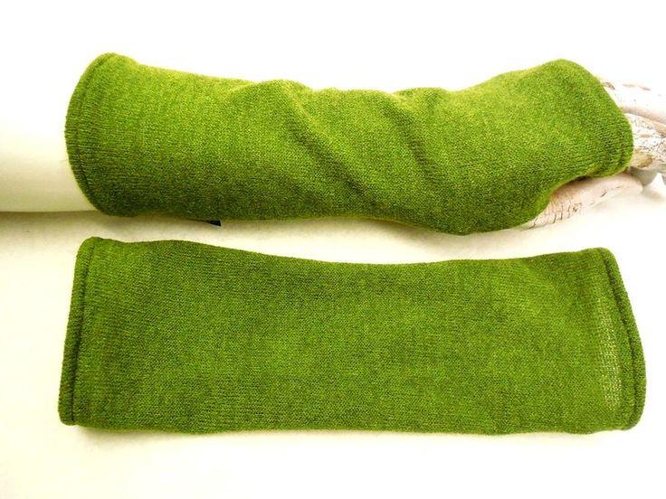 Armstulpen - rar weiche Handschuhe, Strickwolle, Armstulpen, - ein Designerstück von WARZOG bei DaWanda