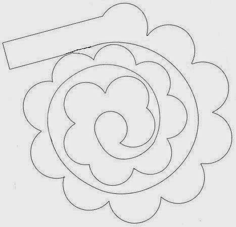 Tvoření od IVETULE: Růže z papíru - návod
