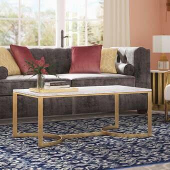 Tabetha Solid Coffee Table In 2020 Deo Und Blau