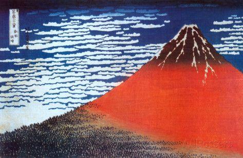Mount Fuji Posters by Katsushika Hokusai at AllPosters.com