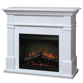 Kenton White Electric Fire - A luxurious fire at the touch of a button!