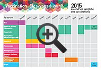 INPES - Calendrier des vaccinations 2015