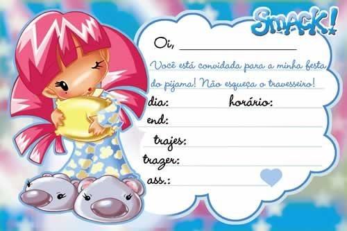 Convite festa do pijama.: Festa Como, Convit Festa, Convite Festa, Festa Do Pijama, Festa Black-Ti, Ems Festa