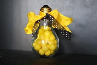 Arise and Shine Forth.  Light bulb jars at hobby lobby.